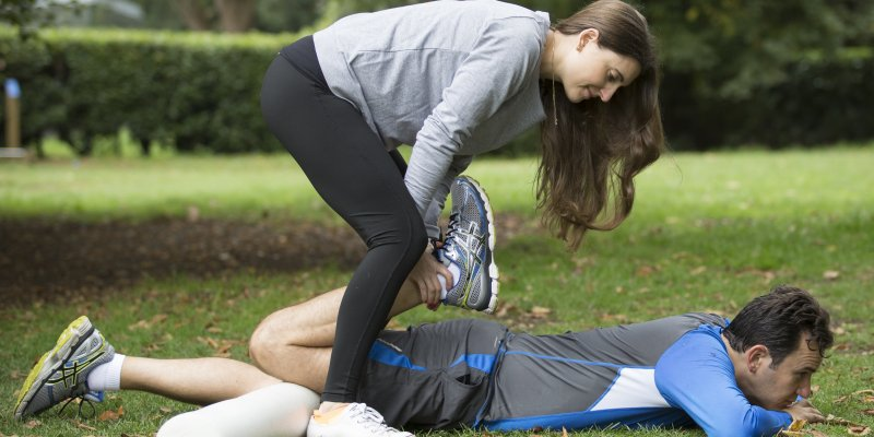 London Personal Trainers share the power of assisted stretching