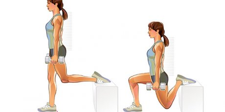 The split squat - the ultimate exercise for strong glutes!
